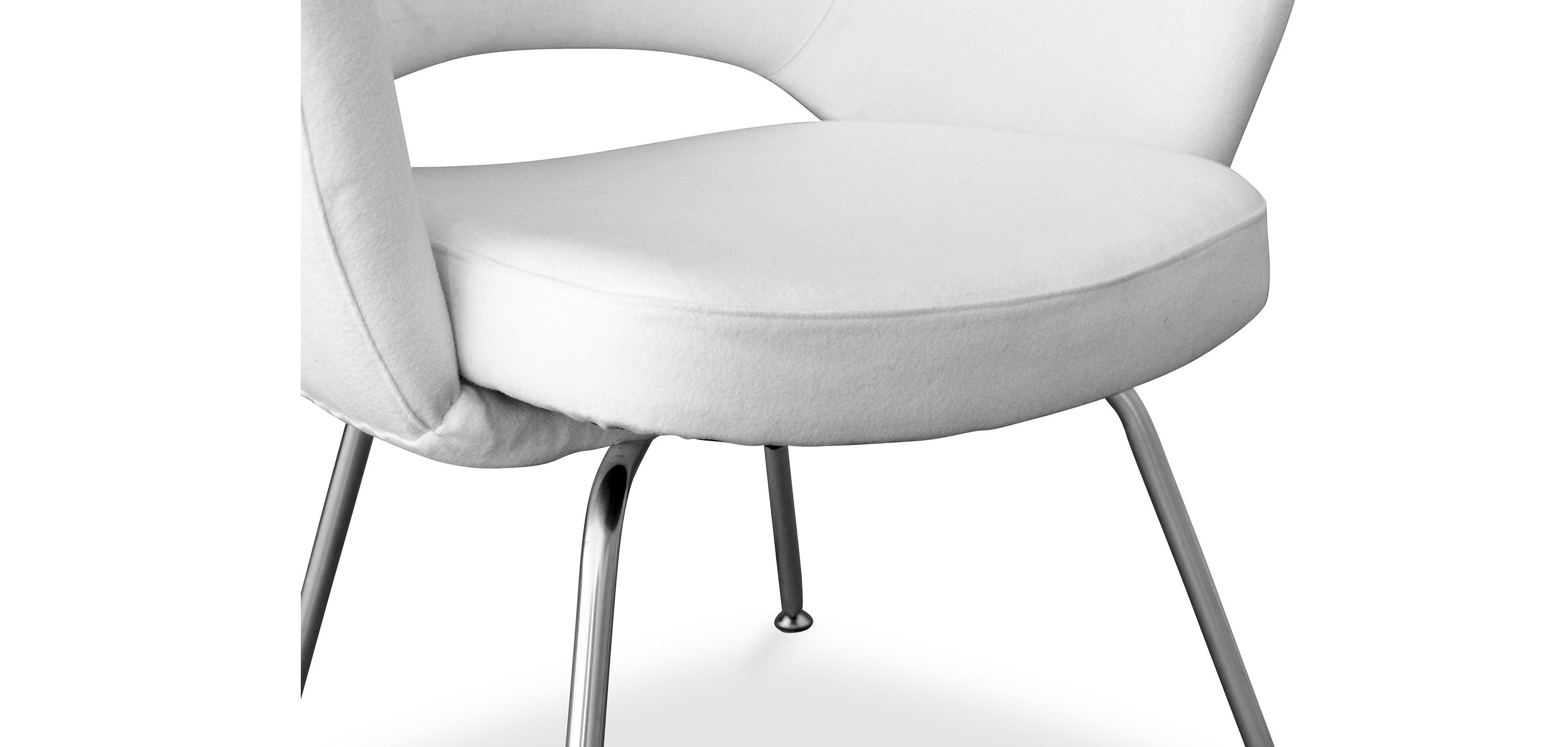 Sedia Executive Eero Saarinen style - Tessuto