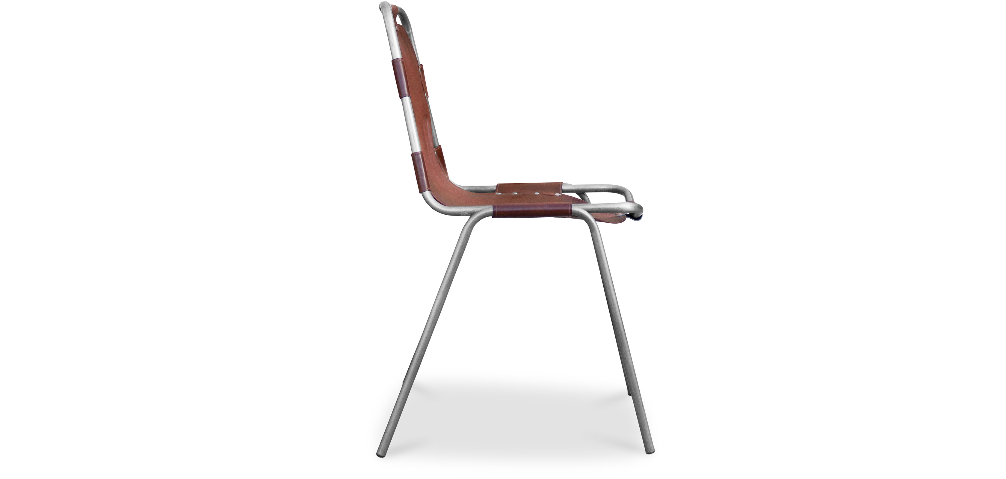 Sedia design industriale vintage acciaio e pelle premium for Sedia design usata