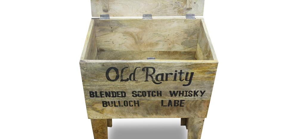 baule naturale vintage industrial grange co legno. Black Bedroom Furniture Sets. Home Design Ideas