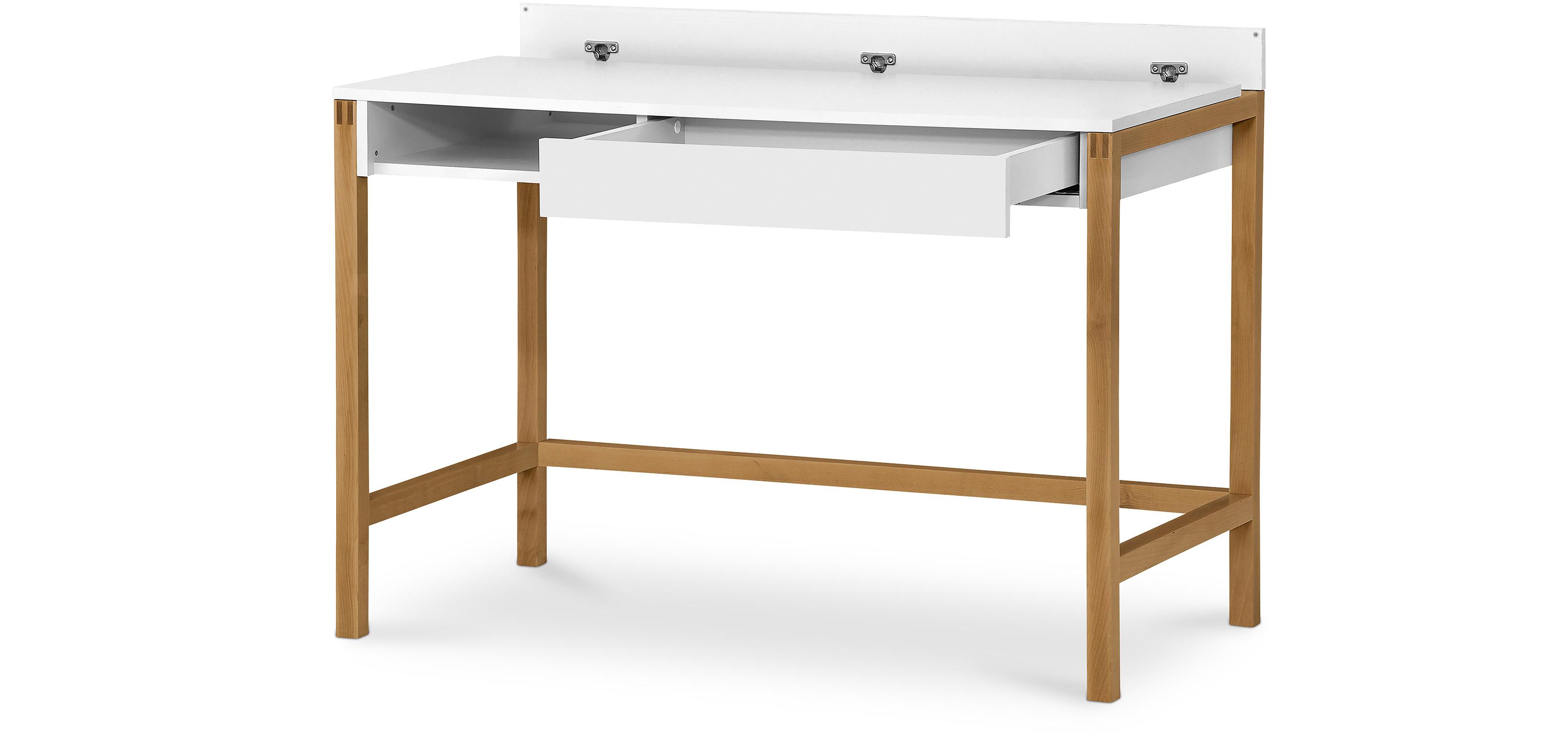 Tavolo scrivania in legno bicolore stile scandinavo - Tavolo stile scandinavo ...