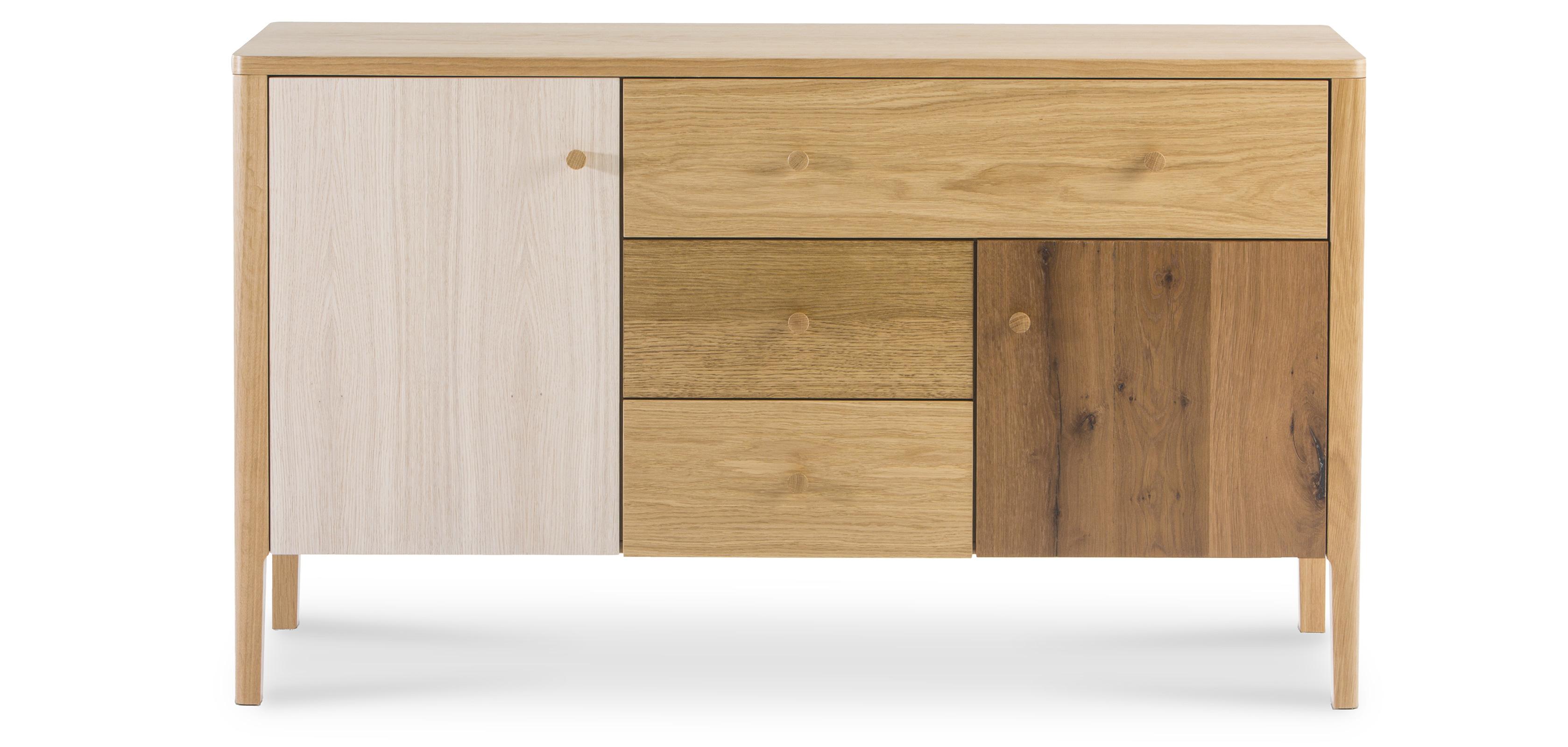 Credenza in legno stile scandinavo - Villu