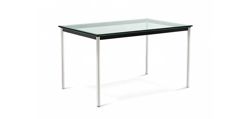 Tavolo rettangolare in vetro lc11 le corbusier - Tavolo cristallo le corbusier ...