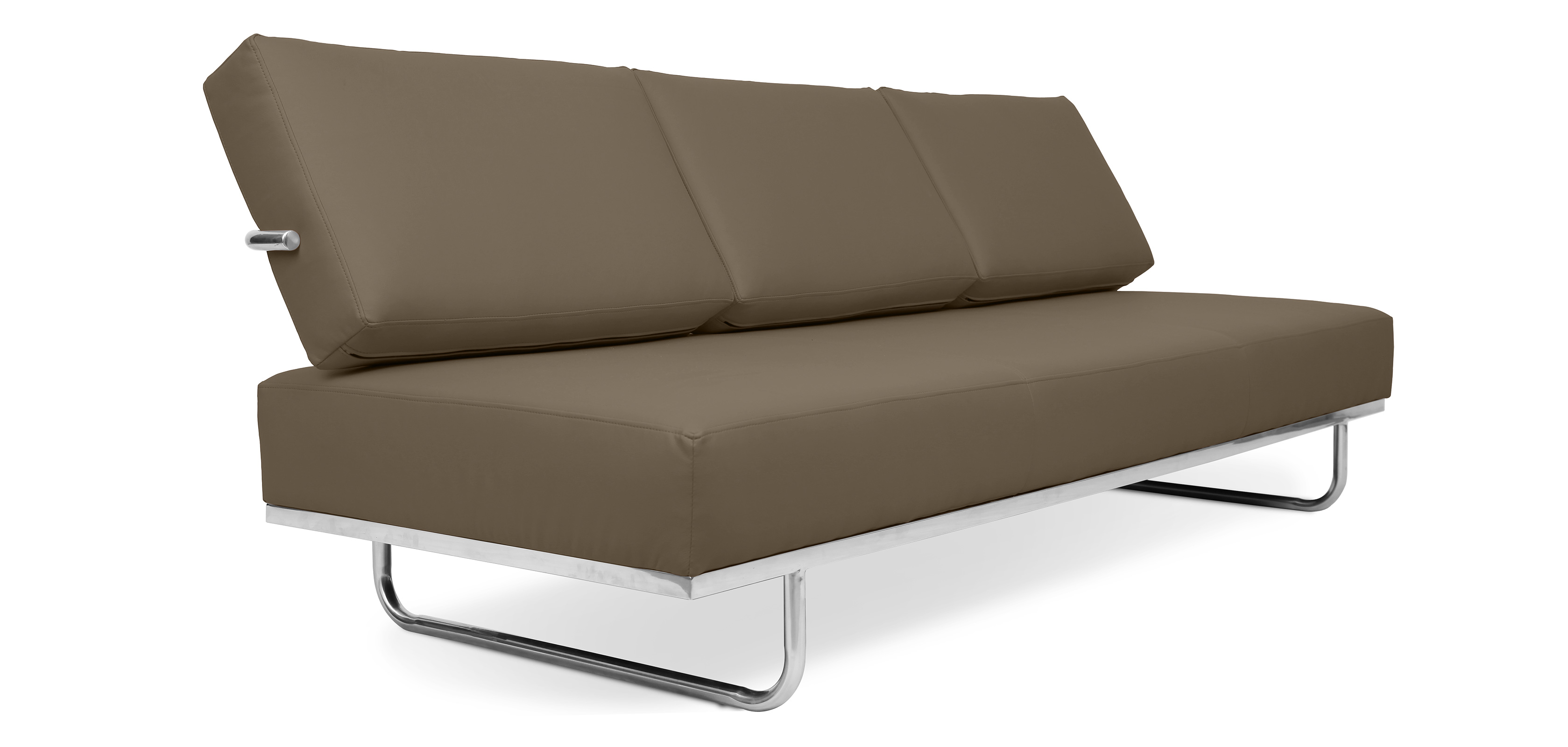 Divano letto lc5 convertibile charles le corbusier pelle for Divano pelle letto