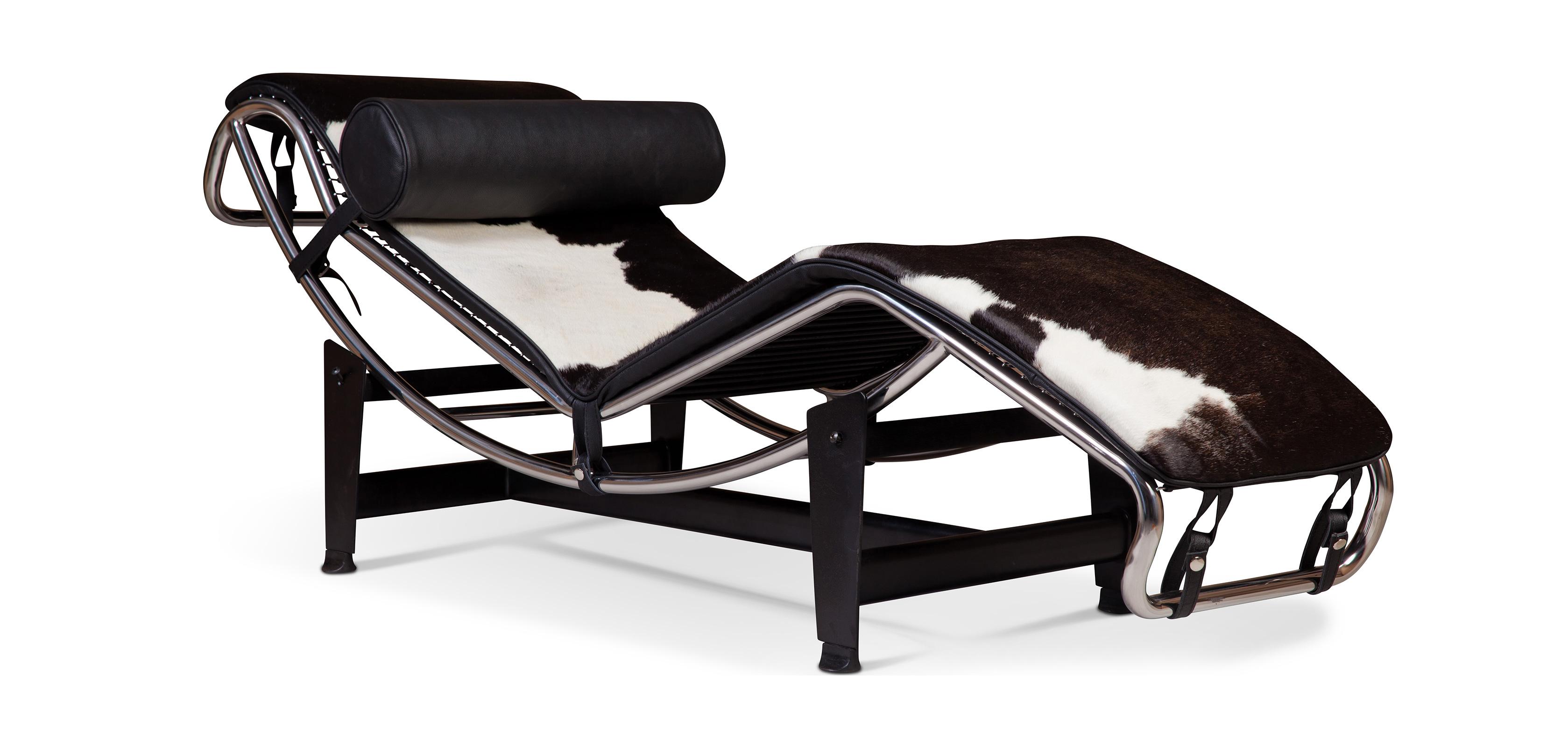 LC4 Sedia reclinabile Charles Le Corbusier