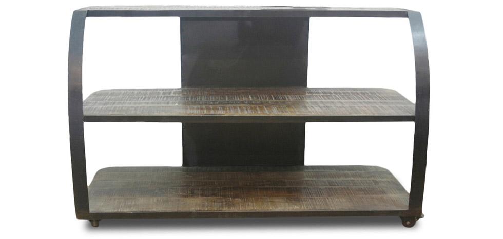 Mobile tv stile industriale grange co legno - Mobile tv stile industriale ...