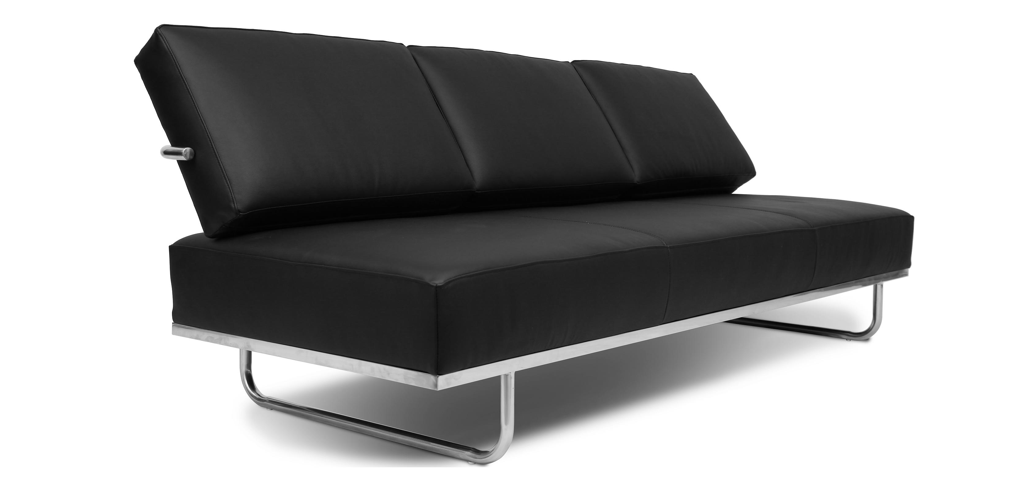 Divano letto LC5 Convertibile Charles Le Corbusier similpelle