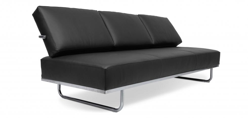 Divano letto LC5 Convertibile Style Le Corbusier Pelle