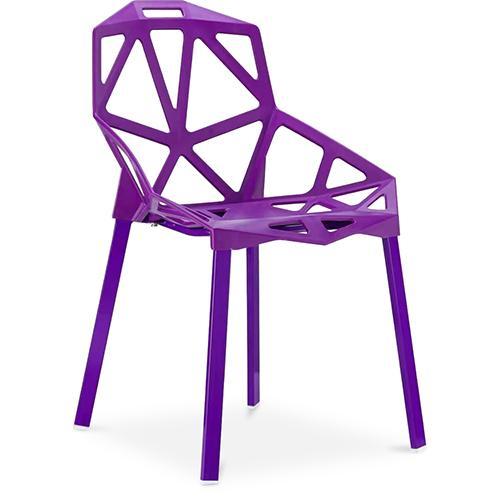 Sedia Per Sala Da Pranzo Di Design Iconic Pp E Metallo